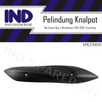 Cover-Tameng-Tutup-Pelindung Knalpot Fino Karbu Lama-Old 2012-2013