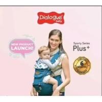 Dialogue Baby Hipseat /Gendongan Bayi 7 in1 Sporty Series - Hijau