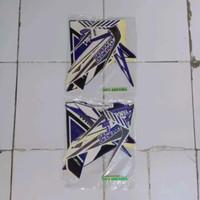 striping new vixion gp 2014 2015 biru