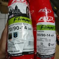 Paket ban biasa FDR Flemmo 70 90 & 80 90 ring 14 motor mio beat fino