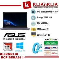 ASUS VivoBook 15 F510QA AMD Quad Core A12-9720P-4GB-128GB SSD-FHD-W