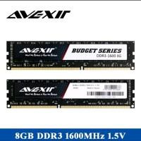 ram ddr3 8gb Avexir khusus AMD pc 12800 speed 1600Mhz tools