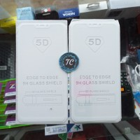 TEMPERED GLASS FULL COVER WARNA 5D PUTIH VIVO Y83
