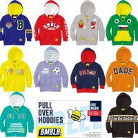 Jaket Sweater Hodiee Anak Laki-Laki Cowok Branded 8-10y. Baju Olahraga