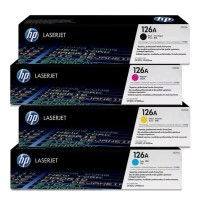 HP Toner laserjet 126A 4Warna For-CE310A - Hitam