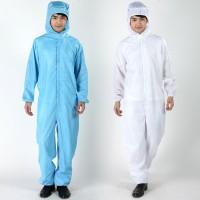 Baju Antistatic Murah/Baju Clean Room/Setelan Baju Antistatic/Jumsuit