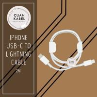 KABEL FAST CHARGING IPHONE 2M - APPLE IPHONE USB C TO LIGHTNING 2M