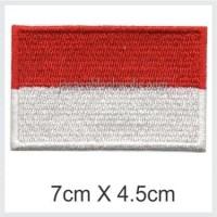 emblem bordir bendera merah putih⠀