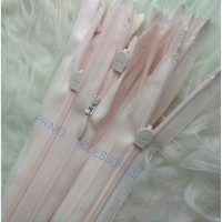 Resleting Jepang YKK 24 Inch - 60 cm Baby Pink/ Invisible Zipper Ori