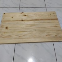 custom ukuran papan kayu jati belanda / top table / kayu pinus murah