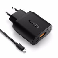 AUKEY Charger Quick Charge 2.0 Fast Charging garansi resmi PA-U28