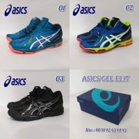 sepatu bola volly merk Asics gel elite
