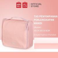 Miniso Official Minigo Portable Toiletry Bag/tas wanita/tas kecil