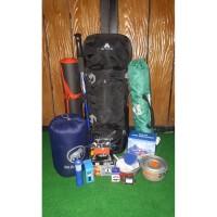 Paket Lengkap Perlengkapan Gunung Avtech Levuca 60L Tenda Monodome DLL