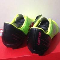 Sepatu Bola Lotto Blade FG Safety Yellow Black L01010033 Original BNIB