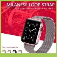 DISKON cod-boss Milanese Strap Loop Magnetik 22mm untuk Apple iWatch