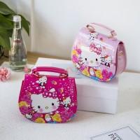 Tas Handbag / Selempang Motif Hello Kitty untuk Anak Perempuan