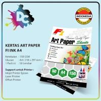Kertas Art Paper Ukuran A4 100 Lembar 150gsm