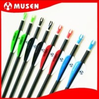 Arrow Carbon mix Musen 6mm Spine 1000 - MSTJ 60HS