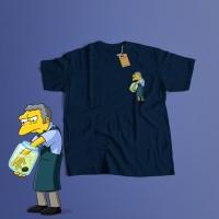 K/102 Kaos Moe SzyslakThe Simpson Simpsons T-Shirt
