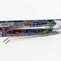 Curved Tweezer / Pinset Bengkok - Aquariset Basic Aquascape Tools