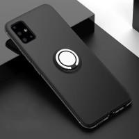 Xiaomi Mi Max 2 Bracket Anti Crash Shell Case Ring Matte Hitam Black