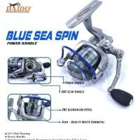 reel pancing daido blue sea spin 2000 power handle murah semarang