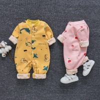jumper Baby Unisex Baju Bayi Katun Jumpsuit Baju 0-2 tahun v01