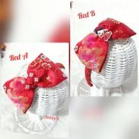 Bando Imlek CNY RedPink