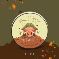COFFEE + TURMERIC SCRUB (LULUR KOPI + KUNYIT) by TIFF BODY