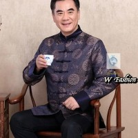 HOT SALE Baju Qipao Pria Cina / Cheongsam Pria / Qi pao/ Baju Sangjit