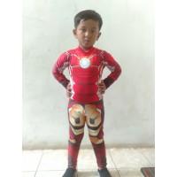 Baju Renang Anak Diving Superhero Ironman
