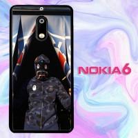 Casing Custom Nokia 6 Bape X PSG L3133