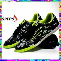 Sepatu Futsal Pria Specs Barricada Ultima Hitam Hijau