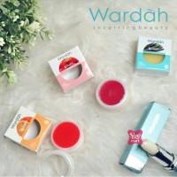 BPOM - Wardah Lip Balm 3 Warna 6,5 gr (Orange , Strawberry , Vanila) /