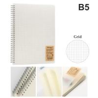 Grid Notebook B5 - 80 lembar / 160 halaman