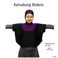 Kerudung Bolero Penutup Kepala + Dada baju Renang Muslim - KBL01