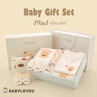 Hadiah Kado Baju Hamper Bayi Baby Shower Organik NewBorn New Pig Piggy