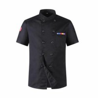 baju chef baju koki pria atau wanita variam warna