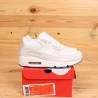 Sepatu Nike AIr Max 90 White Blue Tint Premium BNIB Sneakers Wanita