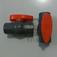 Ball valve pvc / Stop kran 1/2 VPR