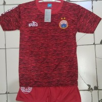 Baju bola persija anak umur 10 - 11 tahun