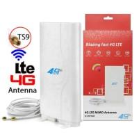 Penguat Sinyal Mifi Modem 4G Dengan Antena External Dua Konektor TS9