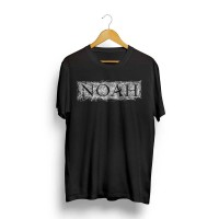 Noah - T-shirt Logo Font Keterkaitan Keterikatan