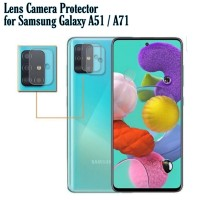 Tempered Glass Kamera Samsung A71 Anti Gores Kamera belakang