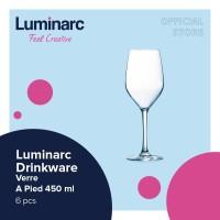 Luminarc Drinkware Mineral - Verre A Pied 450ml - 6pcs