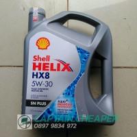 OLI SHELL HELIX HX8 SAE 5W-30 API SN PLUS FULLY SYNTHETICS ORIGINAL