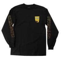 T-shirt Original Santa Cruz x Spongebob Melt Longsleeve / Baju Panjang