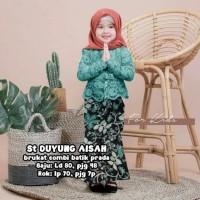 Baju Kebaya Anak Perempuan Cewek Cewe Cew Batik Pakaian Modern Murah