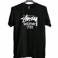 T-shirt Pria Kaos Stussy Singapore - Terbaik Murah